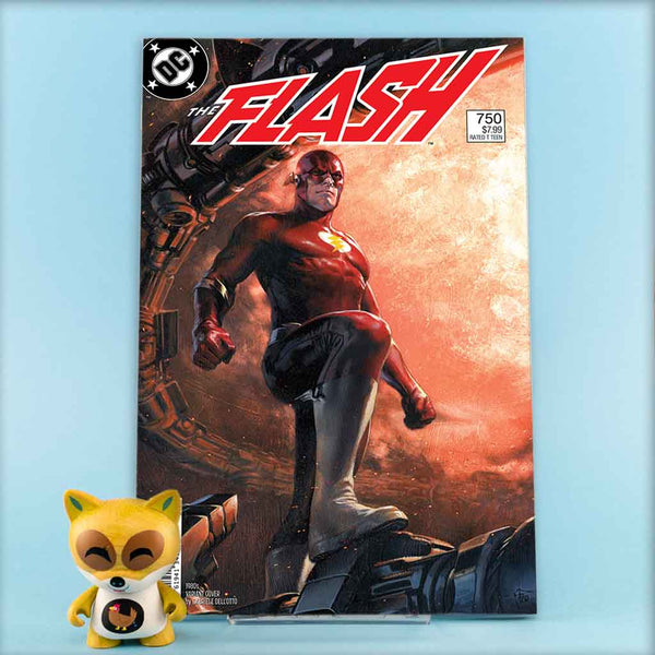 FLASH #750 1980S DELL OTTO VAR ED | Previews · One Shoot Issues | Wash Cómics