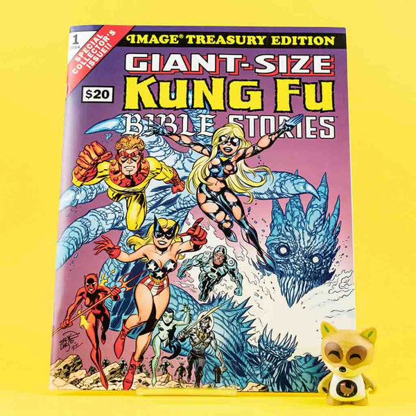 GIANT SIZED KUNG FU BIBLE STORIES | Previews | Tienda online comics | Wash Cómics