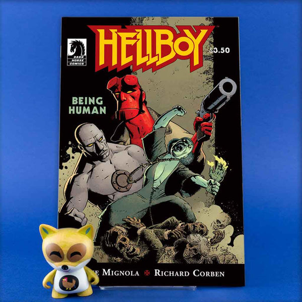 HELLBOY BEING HUMAN | Previews | Tienda online comics | Wash Cómics