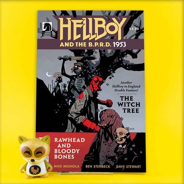 HELLBOY & BPRD 1953 WITCH TREE RAWHEAD BLOODY BONES | Previews · One Shoot Issues | Wash Cómics