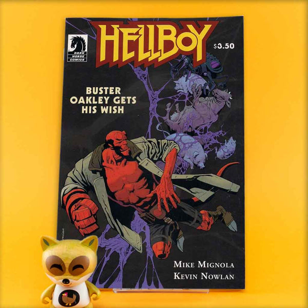HELLBOY BUSTER OAKLEY GETS HIS WISH | Previews · One Shoot Issues | Wash Cómics