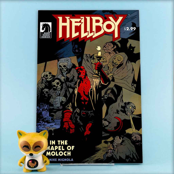 HELLBOY IN THE CHAPEL OF MOLOCH | Previews · One Shoot Issues | Wash Cómics
