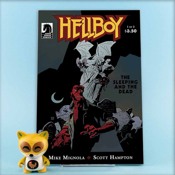 HELLBOY SLEEPING AND DEAD #1 - #2 | Previews · Regular Covers | Wash Cómics