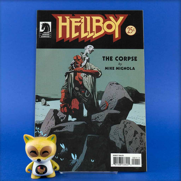 HELLBOY THE CORPSE | Previews · One Shoot Issues | Wash Cómics