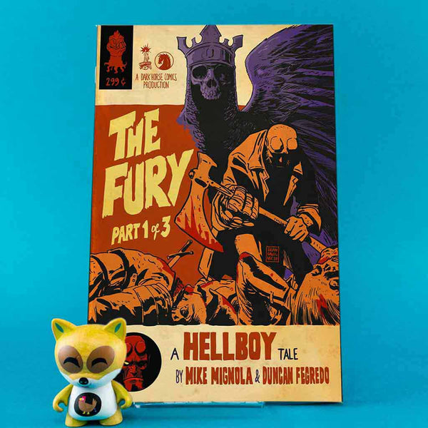 HELLBOY THE FURY #1 (OF 3) FRANCAVILLA COVER C | Previews · Variant Covers | Wash Cómics