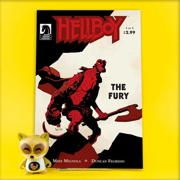 HELLBOY THE FURY #1 - #3 | Previews · Regular Covers | Wash Cómics