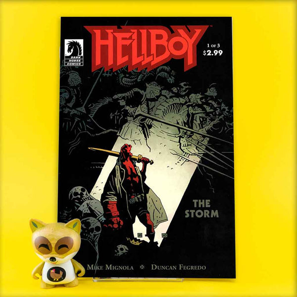 HELLBOY THE STORM #1 - #3 | Previews | Wash Cómics