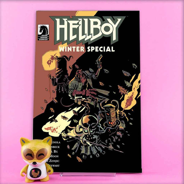 HELLBOY WINTER SPECIAL 2018 | Fabio Moon Cover | Previews | Tienda online comics | Wash Cómics