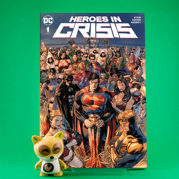 Heroes in Crisis #1 - #9 | Previews | Tienda online comics | Wash Cómics