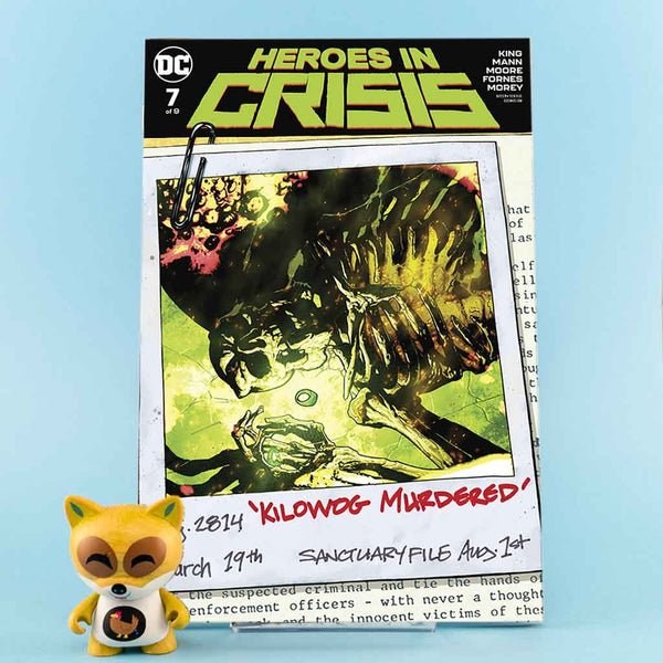 Cómic Heroes in Crisis #7 (of 9) | Ryan Sook Cover de SD DISTRIBUCIONES | Wash Cómics