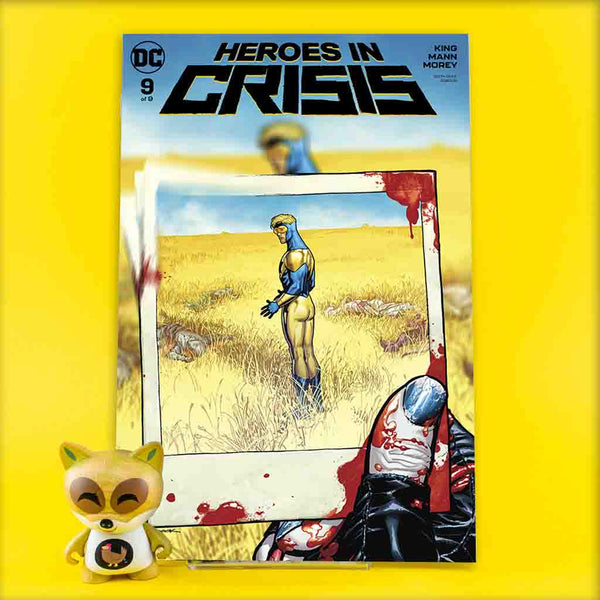 Heroes in Crisis #9 (of 9) | Ryan Sook Cover B | Previews | Wash Cómics