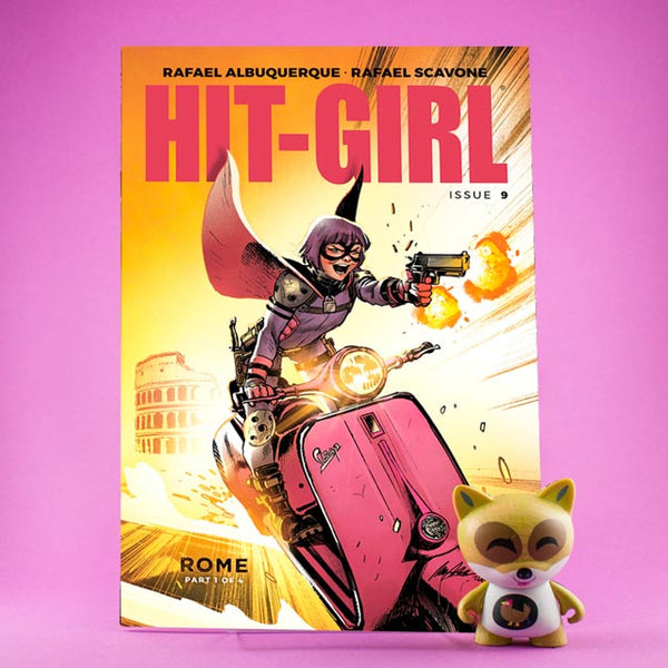 Cómic Hit-Girl #9 - #12 | Hit-Girl in Rome | Regular Cover de SD DISTRIBUCIONES | Wash Cómics