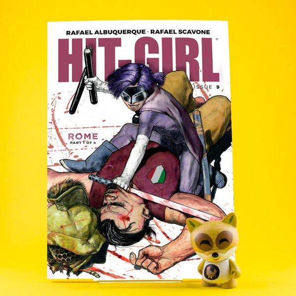 Hit-Girl #9 - #12 | Hit-Girl in Rome | Variant Cover | Previews | Tienda online comics | Wash Cómics