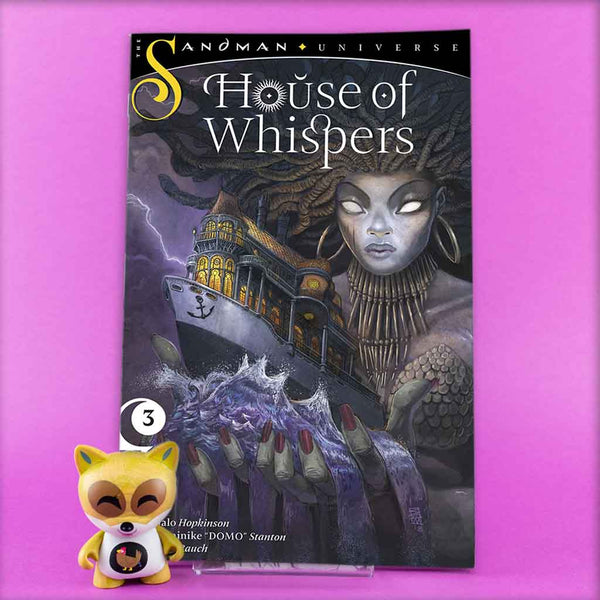 HOUSE OF WHISPERS #1 - #6 | Previews · Series Completas | Wash Cómics