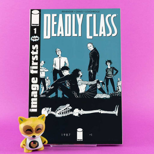 Image First | Deadly Class #1 | Previews · One Shoot Issues | Wash Cómics