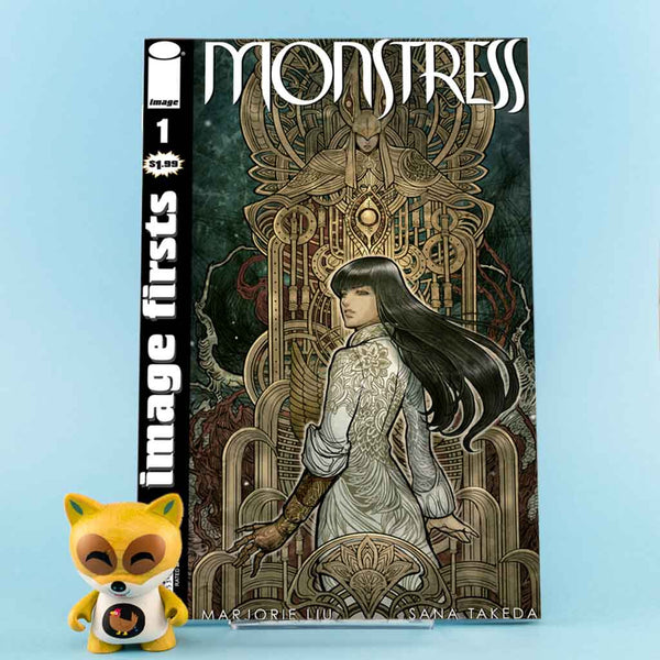 Image First Monstress #1 | Previews · One Shoot Issues | Wash Cómics