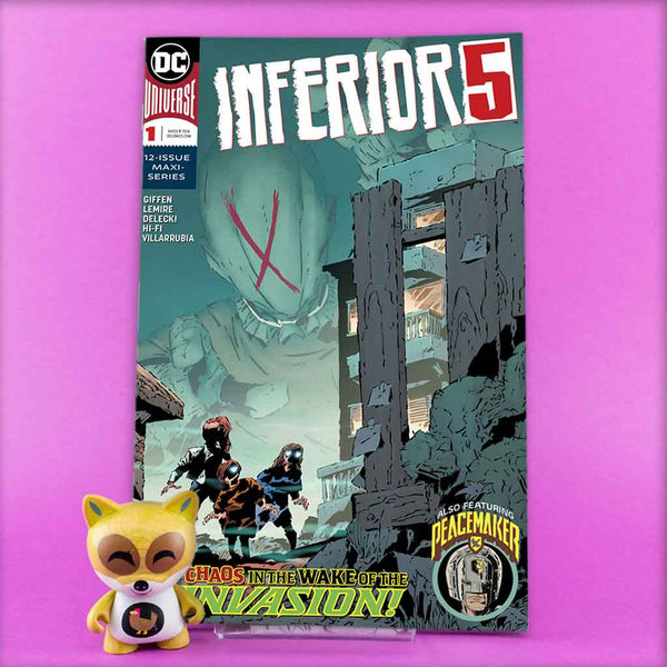 INFERIOR FIVE #1 (OF 12) | Previews · Regular Covers | Wash Cómics
