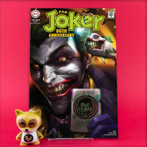 JOKER 80TH ANNIV 100 PAGE SUPER SPECT #1 1960S F MATTINA VAR | Previews · One Shot Issues | Wash Cómics