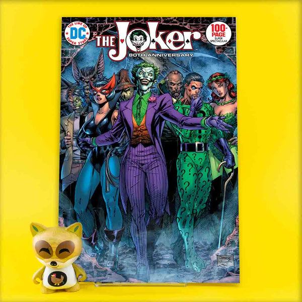 JOKER 80TH ANNIV 100 PAGE SUPER SPECT #1 1970S JIM LEE VAR | Previews · One Shot Issues | Wash Cómics