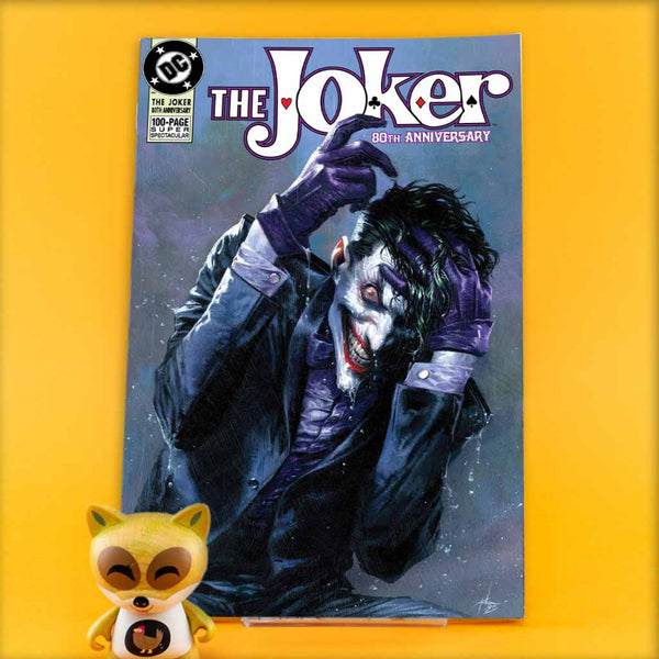 JOKER 80TH ANNIV 100 PAGE SUPER SPECT #1 1990S G DELLOTTO VAR | Previews · One Shot Issues | Wash Cómics