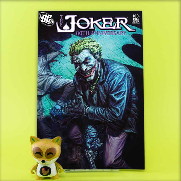 JOKER 80TH ANNIV 100 PAGE SUPER SPECT #1 2000S LEE BERMEJO VAR | Previews · One Shot Issues | Wash Cómics