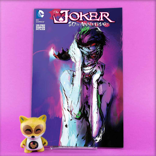 JOKER 80TH ANNIV 100 PAGE SUPER SPECT #1 2010S JOCK VAR | Previews · One Shot Issues | Wash Cómics