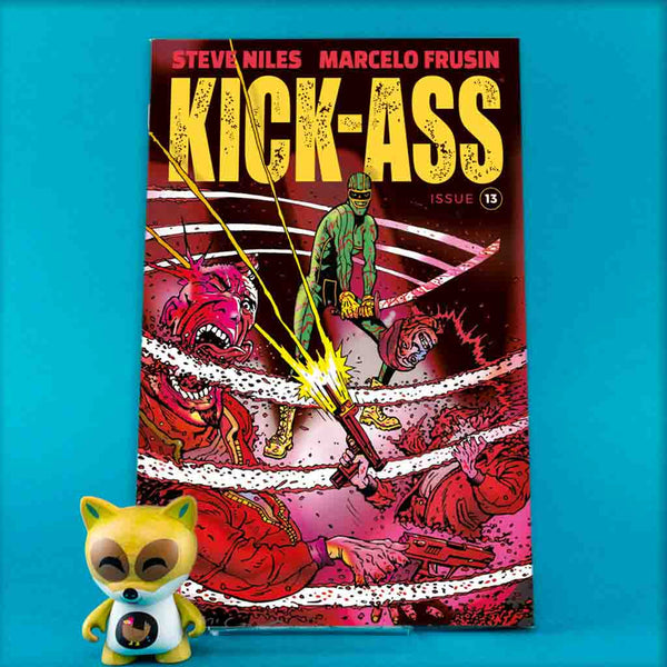 Kick-Ass #13 CVR C Brendan McCarthy | Previews | Wash Cómics