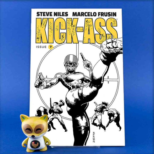 Kick Ass #7 | Cover B | Previews | Wash Cómics