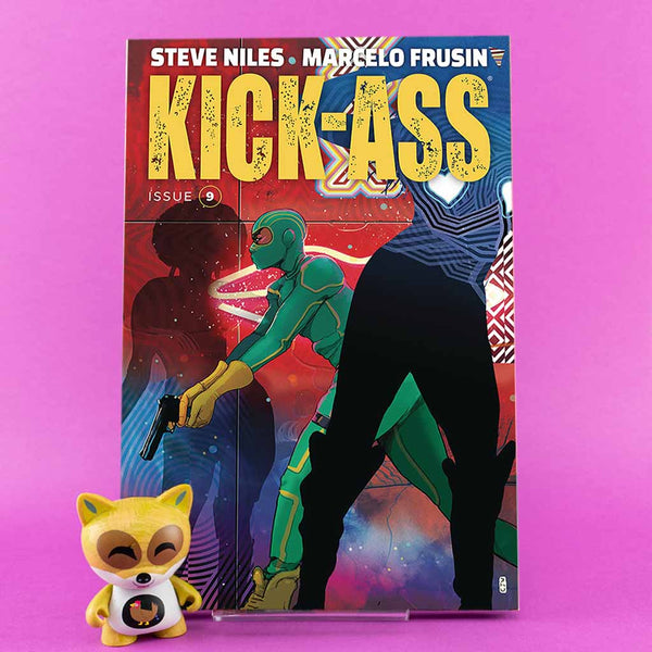 Cómic Kick-Ass #9 |  Christian Ward Cover de SD DISTRIBUCIONES | Wash Cómics