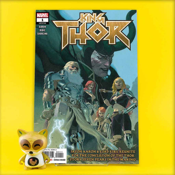 KING THOR #1 (OF 4) | Previews · Regular Covers | Wash Cómics
