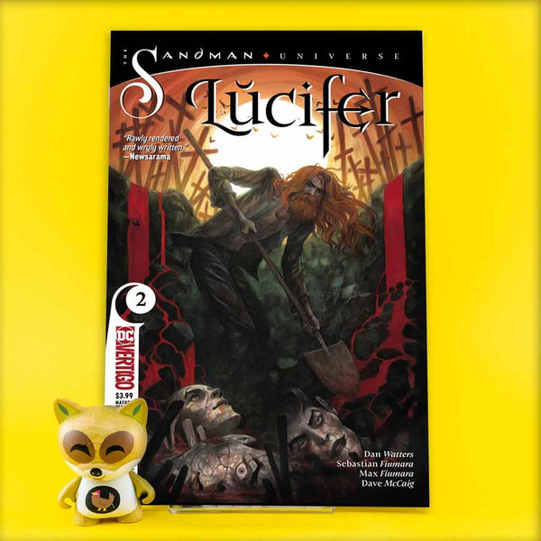 LUCIFER (2018) #1 - #5 | Previews | Wash Cómics