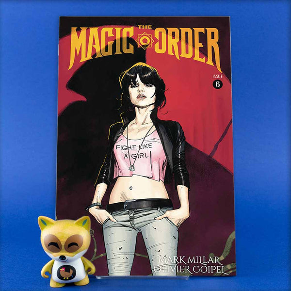 MAGIC ORDER #6 (OF 6) CVR A COIPEL (MR) | Previews · Regular Covers | Wash Cómics