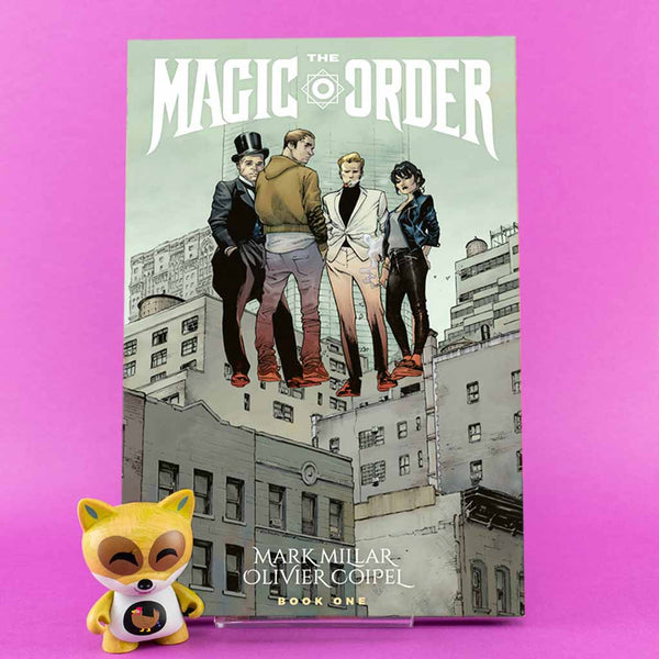 MAGIC ORDER TP VOL 01 | Previews · Tomos | Wash Cómics