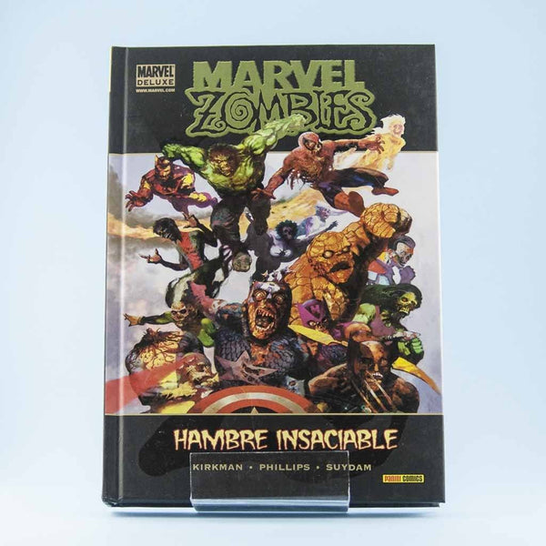 Cómic Marvel Zombis: Hambre Insaciable de PANINI | Wash Cómics