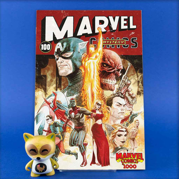 MARVEL COMICS #1000 ANDREWS DECADE VAR | Previews · One Shoot Issues | Wash Cómics