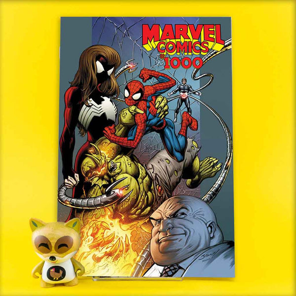 MARVEL COMICS #1000 BAGLEY 00S VAR | Previews · One Shoot Issues | Wash Cómics