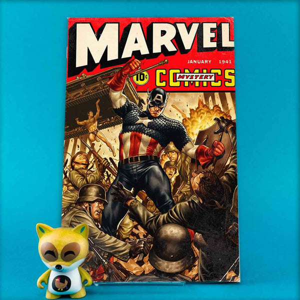 MARVEL COMICS #1000 BROOKS 40S VAR | Previews · One Shoot Issues | Wash Cómics