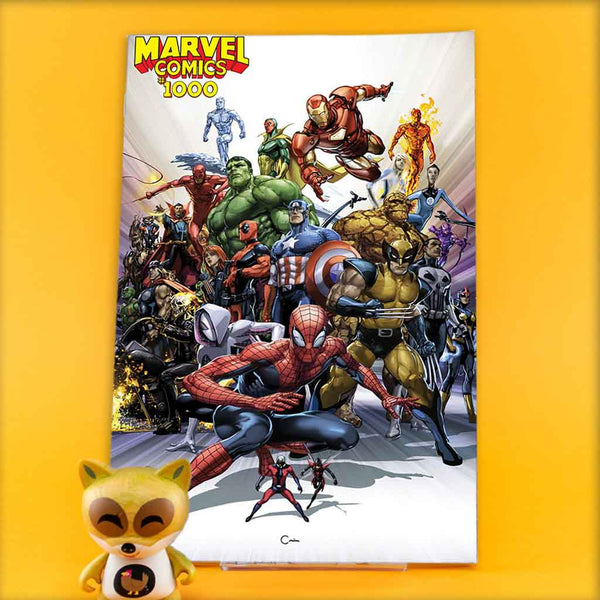 MARVEL COMICS #1000 CRAIN VAR | Previews · One Shoot Issues | Wash Cómics