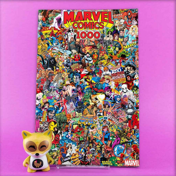 MARVEL COMICS #1000 GARCIN COLLAGE VAR | Previews · One Shoot Issues | Wash Cómics