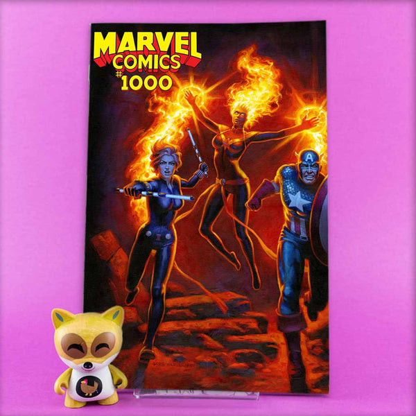 MARVEL COMICS #1000 HILDEBRANDT VAR | Previews · One Shoot Issues | Wash Cómics