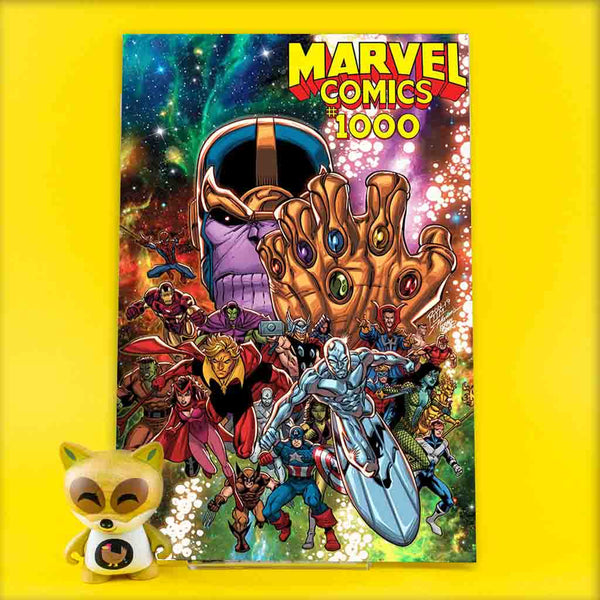 MARVEL COMICS #1000 LIM 90S VAR | Previews | Wash Cómics