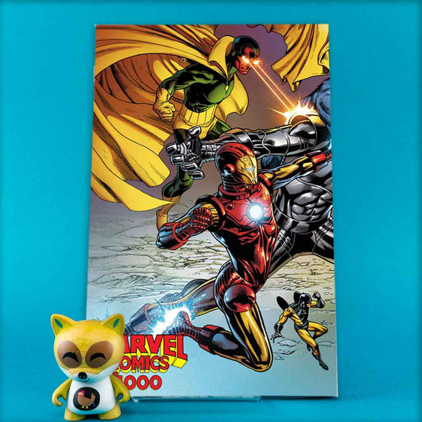 MARVEL COMICS #1000 QUESADA WRAPAROUND VAR | Previews | Wash Cómics