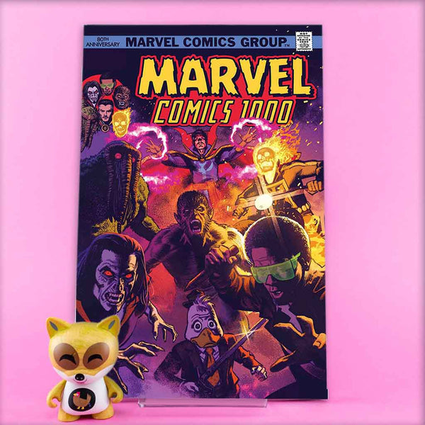 MARVEL COMICS #1000 SMALLWOOD 70S VAR | Previews · One Shoot Issues | Wash Cómics