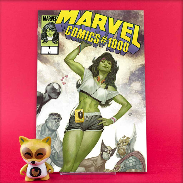MARVEL COMICS #1000 TEDESCO 80S VAR | Previews · One Shoot Issues | Wash Cómics