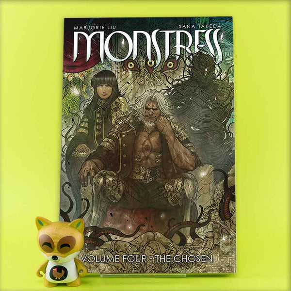 Monstress Vol. 4: The Chosen | Previews · Tomos | Wash Cómics