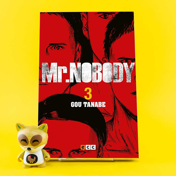 Cómic Mr Nobody 3 de ECC | Wash Cómics