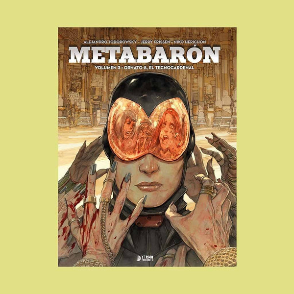 Metabaron 03: Ornato-8, El Tecnocardenal | Europeo | Wash Cómics