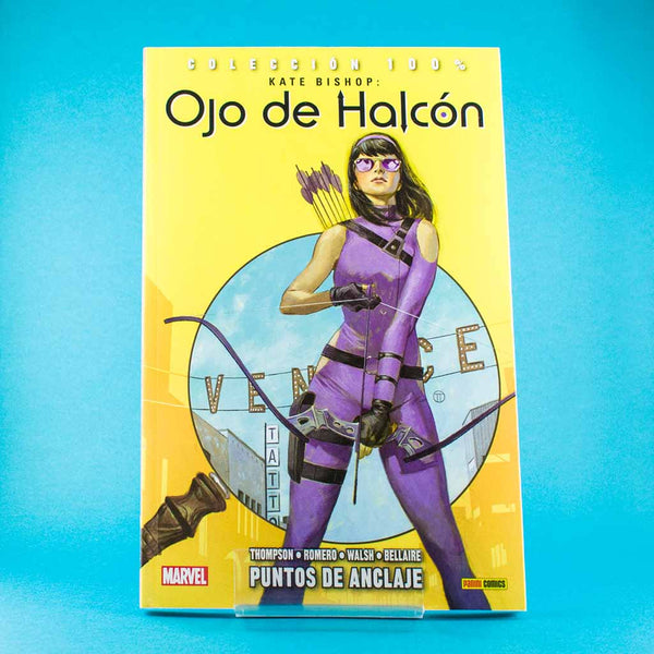 Cómic Kate Bishop 1: Puntos de anclaje de SD DISTRIBUCIONES | Wash Cómics