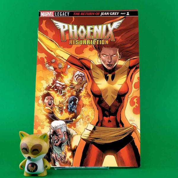 PHOENIX RESURRECTION RETURN JEAN GREY LH #1 | 3D LENTICULAR COVER | Previews | Tienda online comics | Wash Cómics