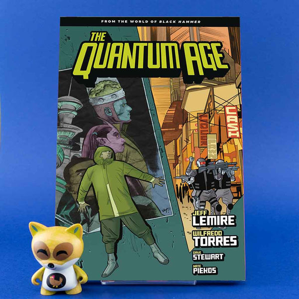 Quantum Age TP From World of Black Hammer Vol. 01 | Previews · Tomos | Wash Cómics